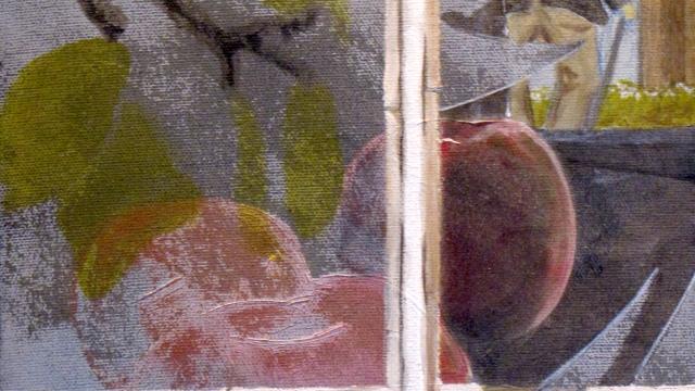 "Progressive Development - oil on canvas, 12"" x 9"""